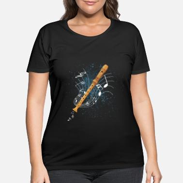Record Recorder - Women's Plus Size T-Shirt