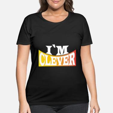 Clever Clever - Women's Plus Size T-Shirt
