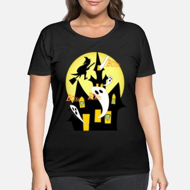 Haunt haunted - Women's Plus Size T-Shirt