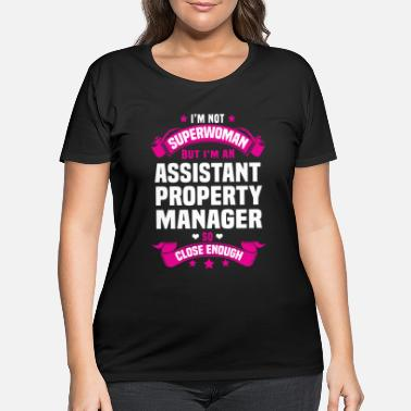 Manager Assistant Property Manager - Women's Plus Size T-Shirt