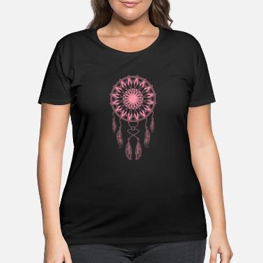 American Indian Dreamcatcher Dreamcatcher Lucky Charm Gift - Women's Plus Size T-Shirt