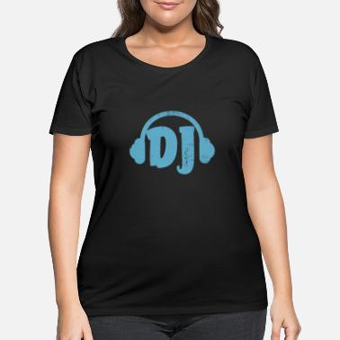 Dj DJ - Women's Plus Size T-Shirt