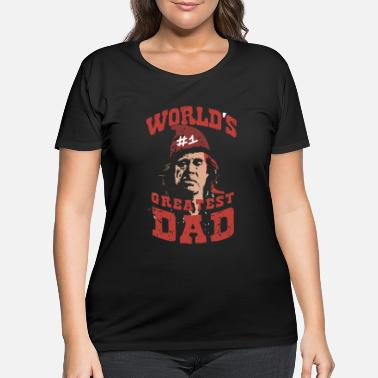 worlds 1 greatest dad t shirts - Women's Plus Size T-Shirt