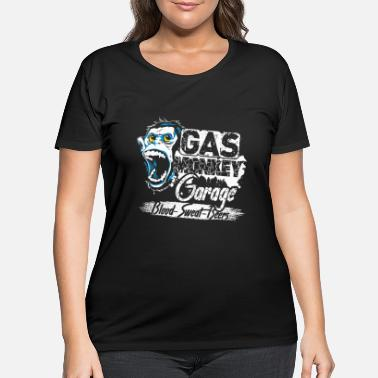 Gas GAS MONKEY SHIRT - Women's Plus Size T-Shirt