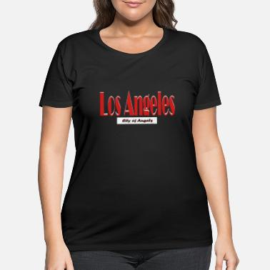 Los Angeles Los Angeles city of angels californian angel sign - Women's Plus Size T-Shirt