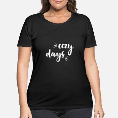 Cozy cozy days - Women's Plus Size T-Shirt