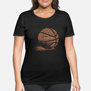 Basketball Lover Basketball Lover - Cool Basketball Text Gift - Women's Plus Size T-Shirt