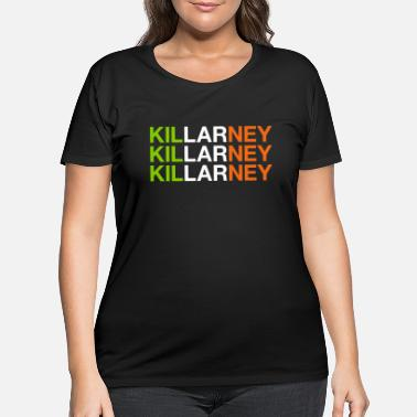 Cloverleaves KILLARNEY - Women's Plus Size T-Shirt