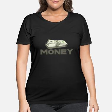 Euro MONEY - Women's Plus Size T-Shirt