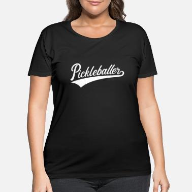 Court Pickleball - Women's Plus Size T-Shirt