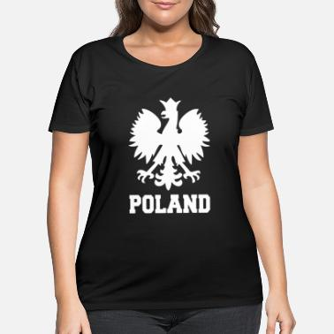 Poland POLAND - Women's Plus Size T-Shirt