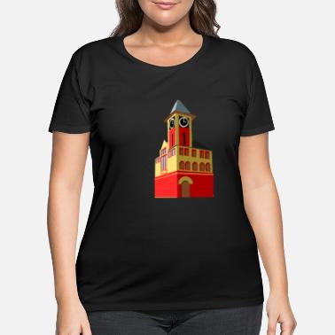 Town Hall New Bern Town Hall - Women's Plus Size T-Shirt