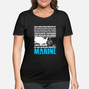 Marine MARINE - Women's Plus Size T-Shirt