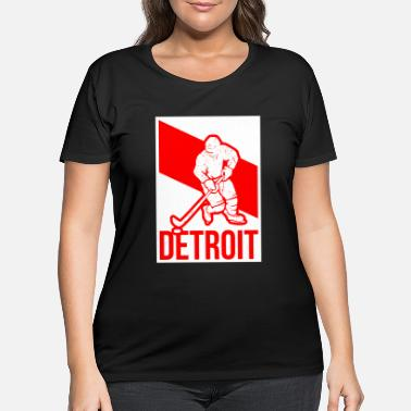 Detroit Hockey detroit hockey - Women's Plus Size T-Shirt