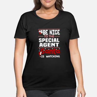 Special Agent Special Agent - Women's Plus Size T-Shirt