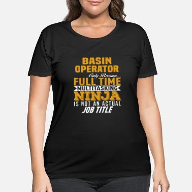 Basin Basin Operator - Women's Plus Size T-Shirt