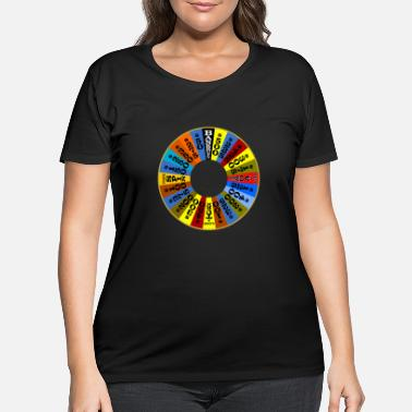 Fortune Wheel of Fortune logo Shirt - Women's Plus Size T-Shirt