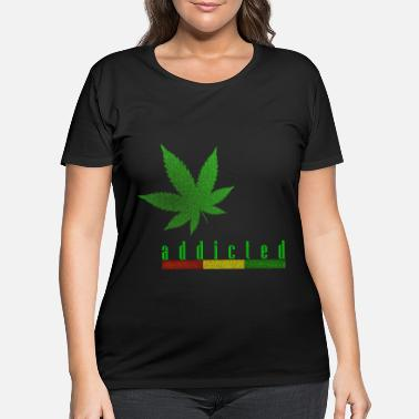 Addicted addicted - Women's Plus Size T-Shirt
