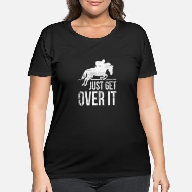 Show Jumping Horse Riding Show Jumping - Women's Plus Size T-Shirt