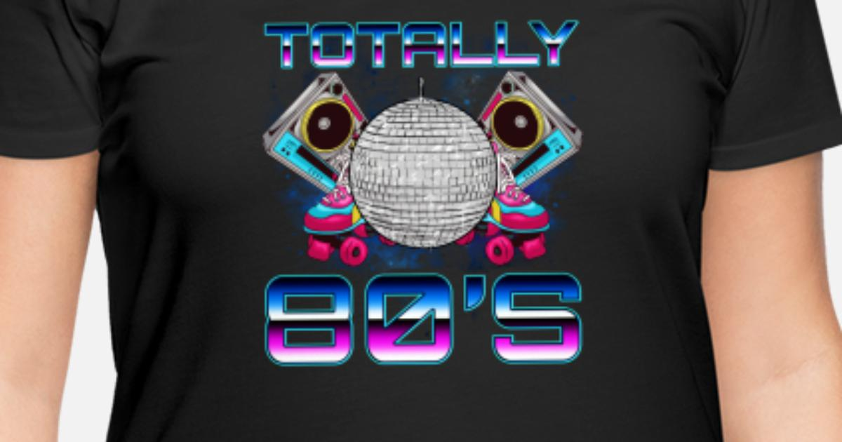 Totally 80\'s Disco Women\'s Plus Size T-Shirt | Spreadshirt