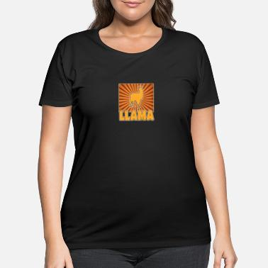 Lama Lama - Women's Plus Size T-Shirt