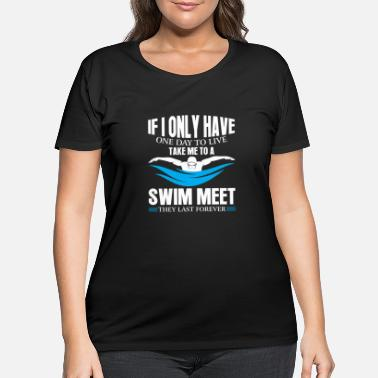 Hobby Swimming Hobby - Women's Plus Size T-Shirt