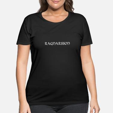 Ancient Ragnarsson warrior gift Viking warrior mythology - Women's Plus Size T-Shirt