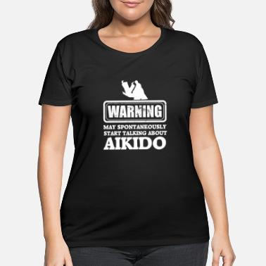 Aikido Aikido - Women's Plus Size T-Shirt