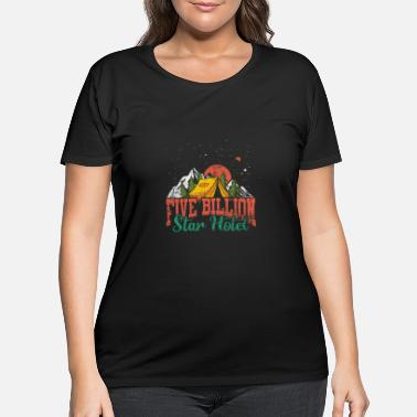 Nature Camping Nature - Women's Plus Size T-Shirt