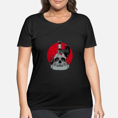 Bloody Bloody moon - Women's Plus Size T-Shirt