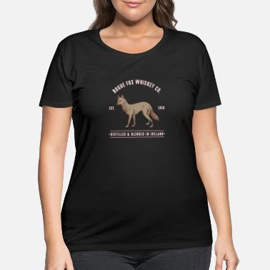 fox mountains wild outdoors animals camping - Women's Plus Size T-Shirt