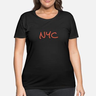 Nyc NYC - Women's Plus Size T-Shirt