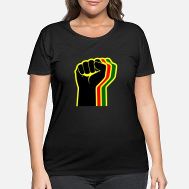 Fist fist - Women's Plus Size T-Shirt