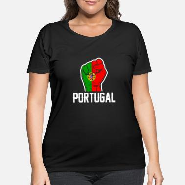 Portugal Portugal Flag Tshirt - Women's Plus Size T-Shirt
