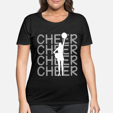 Cheering Cheerleading - Cheer Cheer Cheer - Women's Plus Size T-Shirt