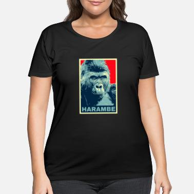 gorilla - Women's Plus Size T-Shirt