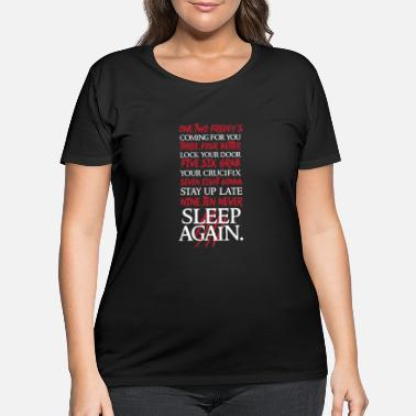 Nightmare Nightmare on elm street - 1, 2 Freddy's Coming F - Women's Plus Size T-Shirt