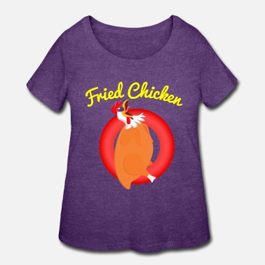 Hunger Fried Chicken - Women's Plus Size T-Shirt