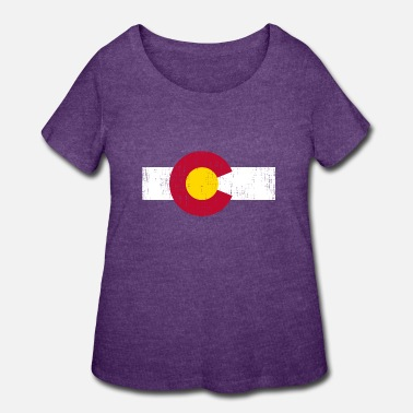 State Flag Colorado State Flag - Women's Plus Size T-Shirt