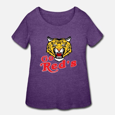 Sporty GO RED'S - Women's Plus Size T-Shirt