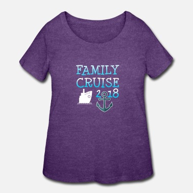 Vacation Family Cruise Vacation Gift - Women's Plus Size T-Shirt