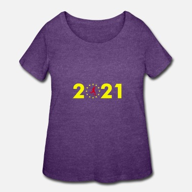 2021 2021 - Women's Plus Size T-Shirt