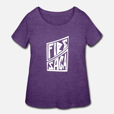 Fire Band Saga - Women's Plus Size T-Shirt