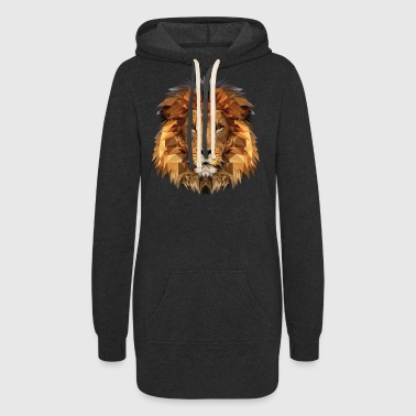 lion - Women's Hoodie Dress
