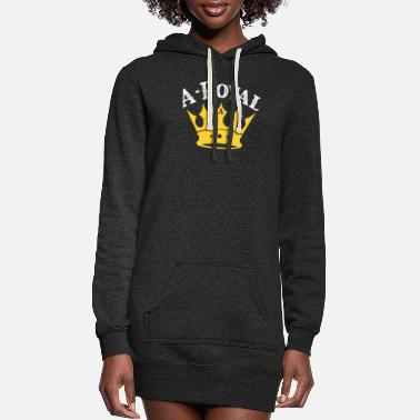 High School Graduate A-royal high school graduation - Women's Hoodie Dress