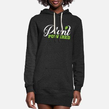 Plant Grounds Plant powerde - Women's Hoodie Dress