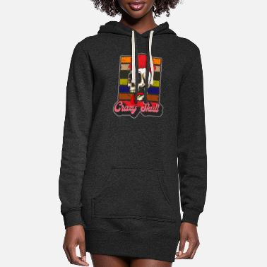 Tape vintage Music theme party - Women's Hoodie Dress
