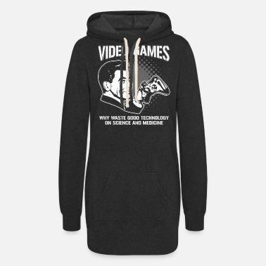 Video Game VIDEO GAMES - Women's Hoodie Dress
