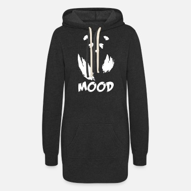 Mood Mood Panda - Women's Hoodie Dress