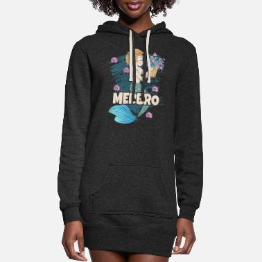 Brother Merbro T Shirt Big Brother Of A Mermaid Birthday - Women's Hoodie Dress